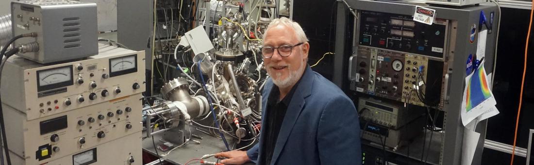 Thomas Orlando in the REVEALS Lab