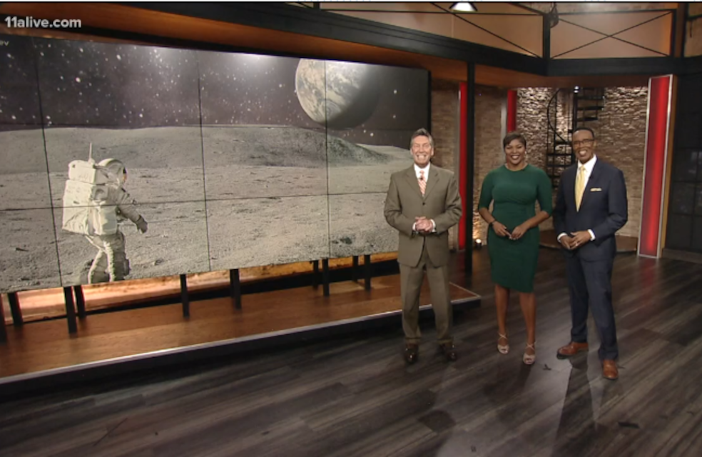 11 Alive TV Anchors Discus GT Students Designing Space Technology