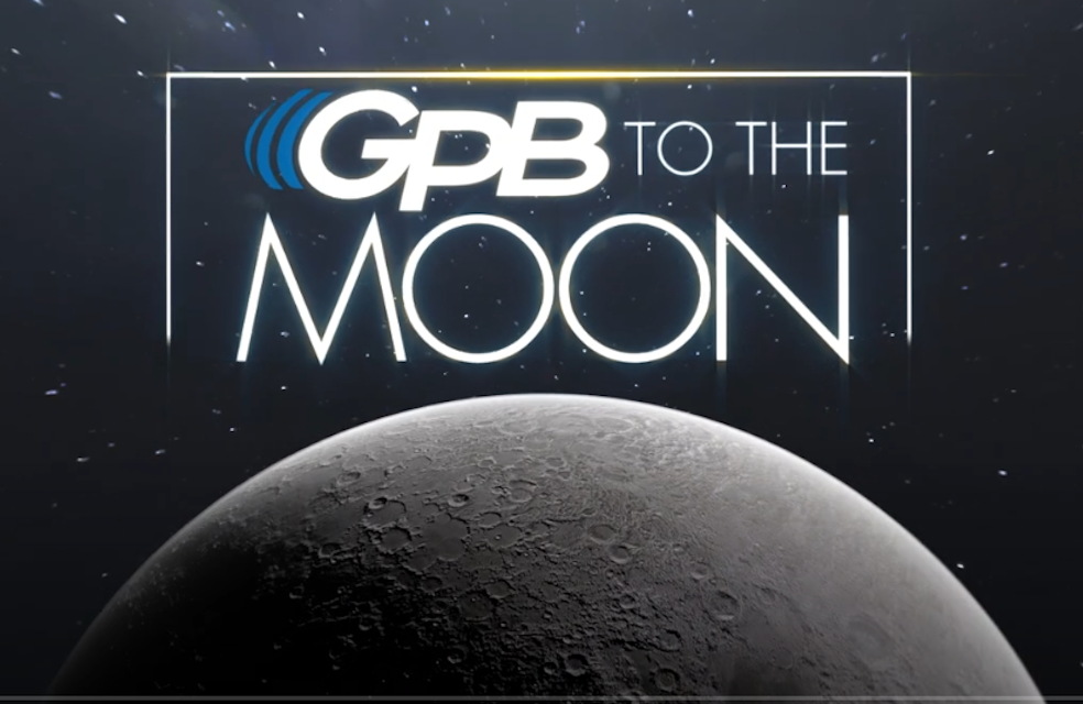 GPB to the Moon Logo