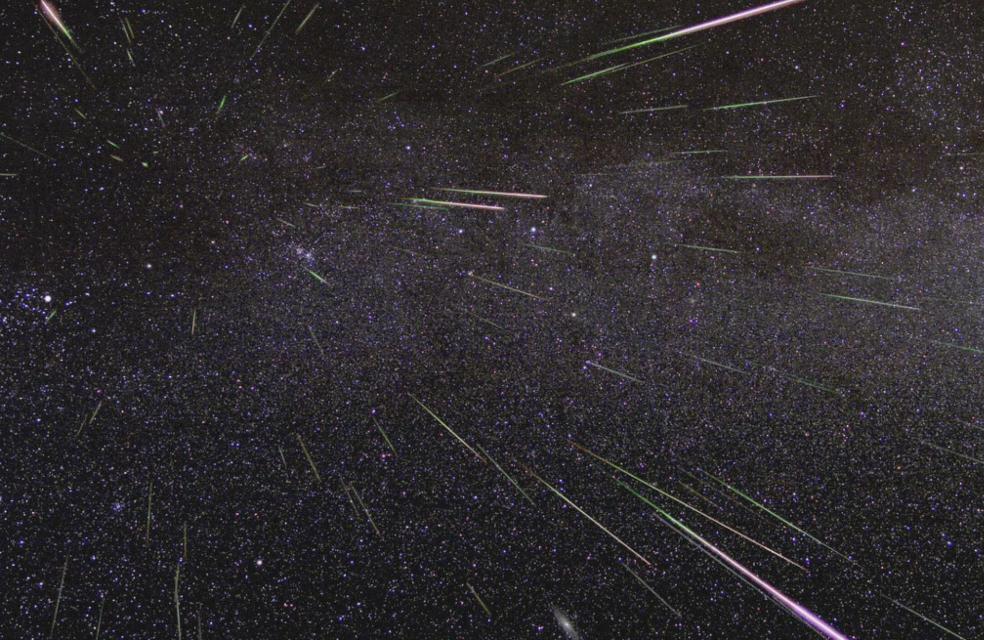 Image of meteors