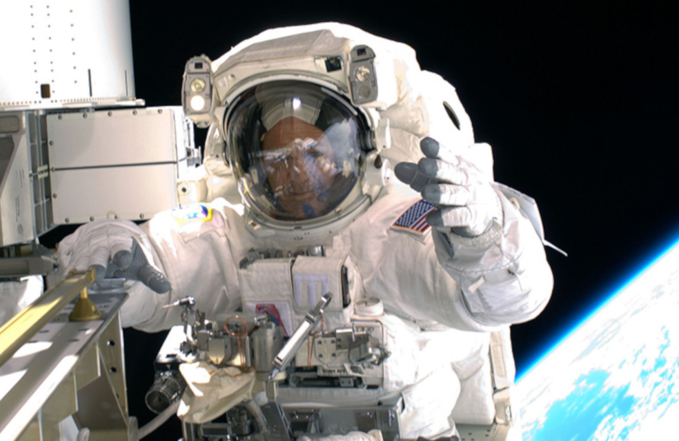 image of an astronaut in a spacesuit